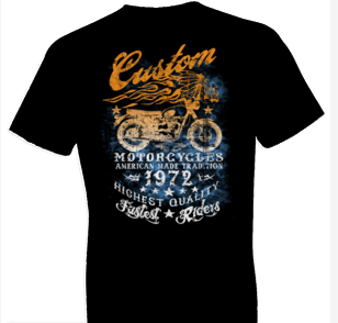 American Made Tradition Biker Tshirt - TshirtNow.net - 1