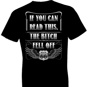 Fell Off Biker Tshirt