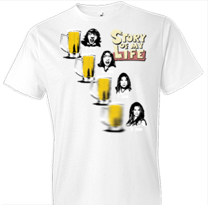 Story of My Life Beer Tshirt - TshirtNow.net - 1