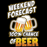 100% Chance of Beer Tshirt - TshirtNow.net - 2