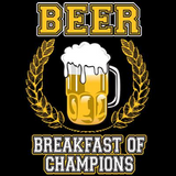 Beer Breakfast of Champions Tshirt - TshirtNow.net - 2