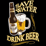 Save Water Drink Beer Tshirt - TshirtNow.net - 2