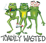 Toadily Wasted Beer Tshirt - TshirtNow.net - 2