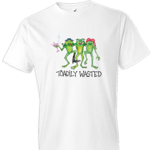 Toadily Wasted 2 Beer Tshirt - TshirtNow.net - 1