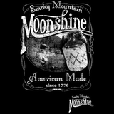 Smokey Mountain Moonshine Oversized Print Tshirt - TshirtNow.net - 2