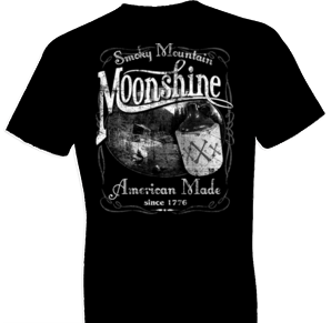 Smokey Mountain Moonshine Tshirt - TshirtNow.net - 1