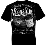Smokey Mountain Moonshine Oversized Print Tshirt - TshirtNow.net - 1