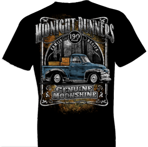 Midnight Runners Moonshine Oversized Print Tshirt - TshirtNow.net - 1