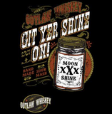 Git Yer Shine On Moonshine Tshirt - TshirtNow.net - 2
