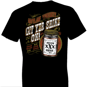 Git Yer Shine On Moonshine Tshirt - TshirtNow.net - 1