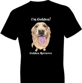 Funny Golden Retriever Tshirt - TshirtNow.net