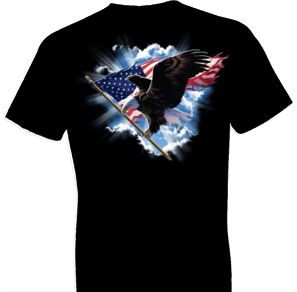 Patriotic Flying Eagle Tshirt - TshirtNow.net - 1