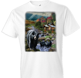 At The Cabin Wildlife Oversized tshirt - TshirtNow.net - 1