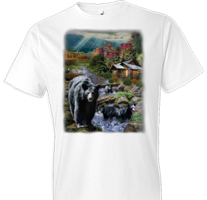 At The Cabin Wildlife Oversized tshirt