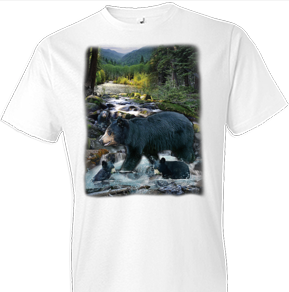 At The Creek Oversized Wildlife tshirt
