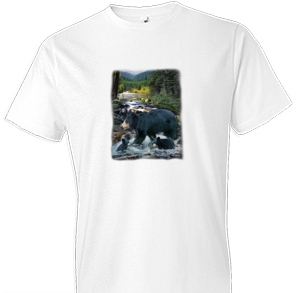 At The Creek Wildlife tshirt