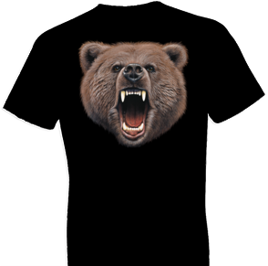 Bear Bite Oversized Wildlife tshirt
