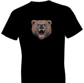 Bear Bite Wildlife tshirt - TshirtNow.net - 1