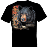 Black Bear Wildlife tshirt - TshirtNow.net - 1