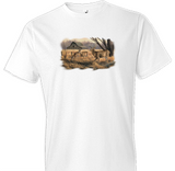 Abandoned Farmstead Wildlife Tshirt - TshirtNow.net - 1