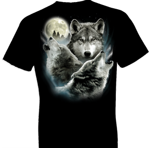 Three Wolves Wildlife Tshirt