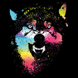 Colorful Wolves Tshirt - TshirtNow.net - 2