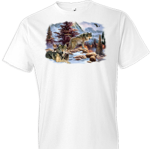 A New Dawn Wolf Tshirt