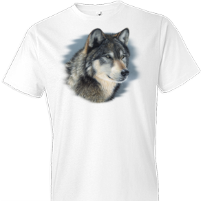 Cold Stare Wolf Tshirt