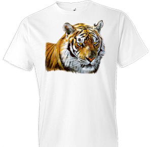 Tiger Head Portrait Tshirt - TshirtNow.net - 1