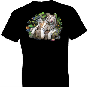 White Tiger Family Tshirt - TshirtNow.net - 1