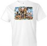 African Smile Tshirt With Oversized Print - TshirtNow.net - 1