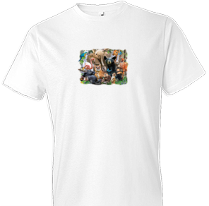 Nature Trail Animal Tshirt - TshirtNow.net - 1