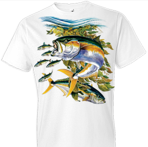 Yellowtail Fish Tshirt - TshirtNow.net - 1