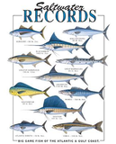 Saltwater Records Fish Tshirt - TshirtNow.net - 2