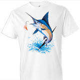 Blue Marlin Fish Tshirt - TshirtNow.net - 1