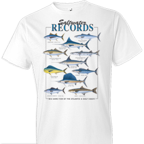 Saltwater Records Fish Tshirt - TshirtNow.net - 1
