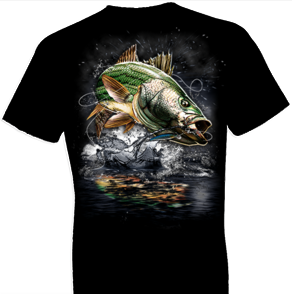 Jumping Striped Bass Tshirt - TshirtNow.net - 1