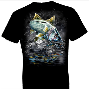 Jumping Snook Tshirt - TshirtNow.net - 1