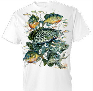 Crappie Collage Fish Tshirt