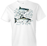 Salmon Tshirt with Crest - TshirtNow.net - 1
