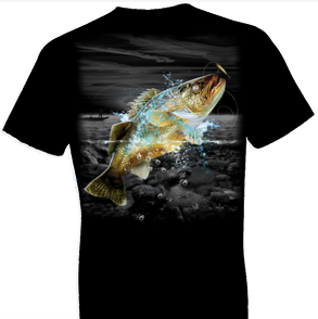 Walleye Wilderness Tshirt - TshirtNow.net - 1