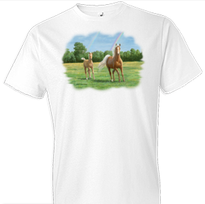 Double The Gold Horse Tshirt - TshirtNow.net - 1