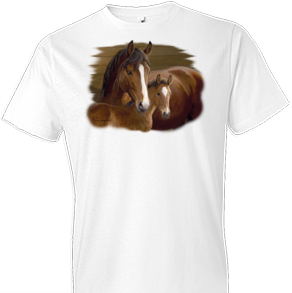 Bay Ladies Horse Tshirt