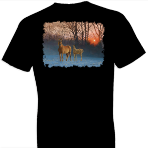 Winter Dawn Horse Tshirt - TshirtNow.net - 1