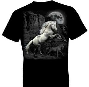 White Horse Wilderness Tshirt - TshirtNow.net - 1