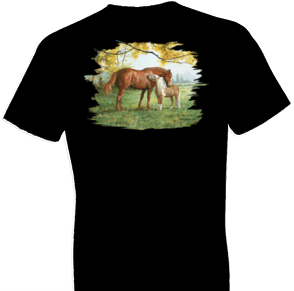 Little Higher Please Horse Tshirt