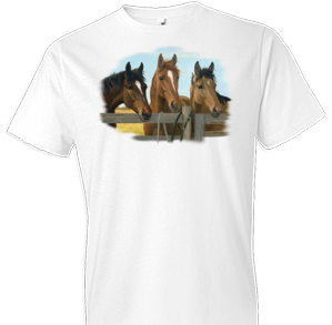 Carrots Please Horse Tshirt