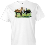 The Weanlings Horse Tshirt with Oversized Print - TshirtNow.net - 1