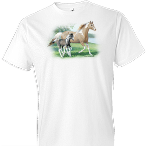 Glory and Noah Horse Tshirt with Oversized Print - TshirtNow.net - 1