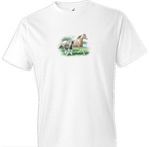 Glory and Noah Horse Tshirt